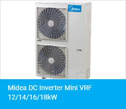 Midea DC Inverter Mini VRF 12 14 16 18kW