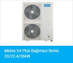 Midea V4 Plus Bağımsız Serisi 20 22.426kW