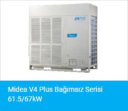 Midea V4 Plus Bağımsız Serisi 61.5 67kW