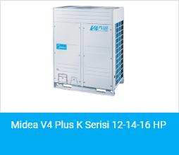 Midea V4 Plus K Serisi 12 14 16 HP