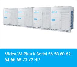 Midea V4 Plus K Serisi 56 58 60 62 64 66 68 70 72 HP