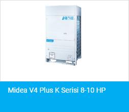 Midea V4 Plus K Serisi 8 10 HP