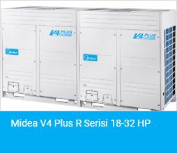 Midea V4 Plus R Serisi 18 32 HP