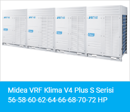 Midea V4 Plus S Serisi 56 58 60 62 64 66 68 70 72 HP