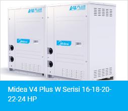 Midea V4 Plus W Serisi 16 18 20 22 24 HP