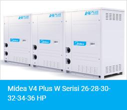 Midea V4 Plus W Serisi 26 28 30 32 34 36 HP
