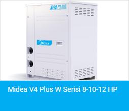 Midea V4 Plus W Serisi 8 10 12 HP
