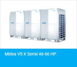 Midea V5 X Serisi 46 66 HP