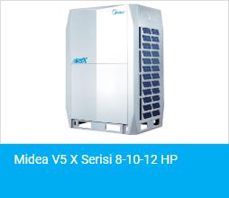 Midea V5 X Serisi 8 10 12 HP